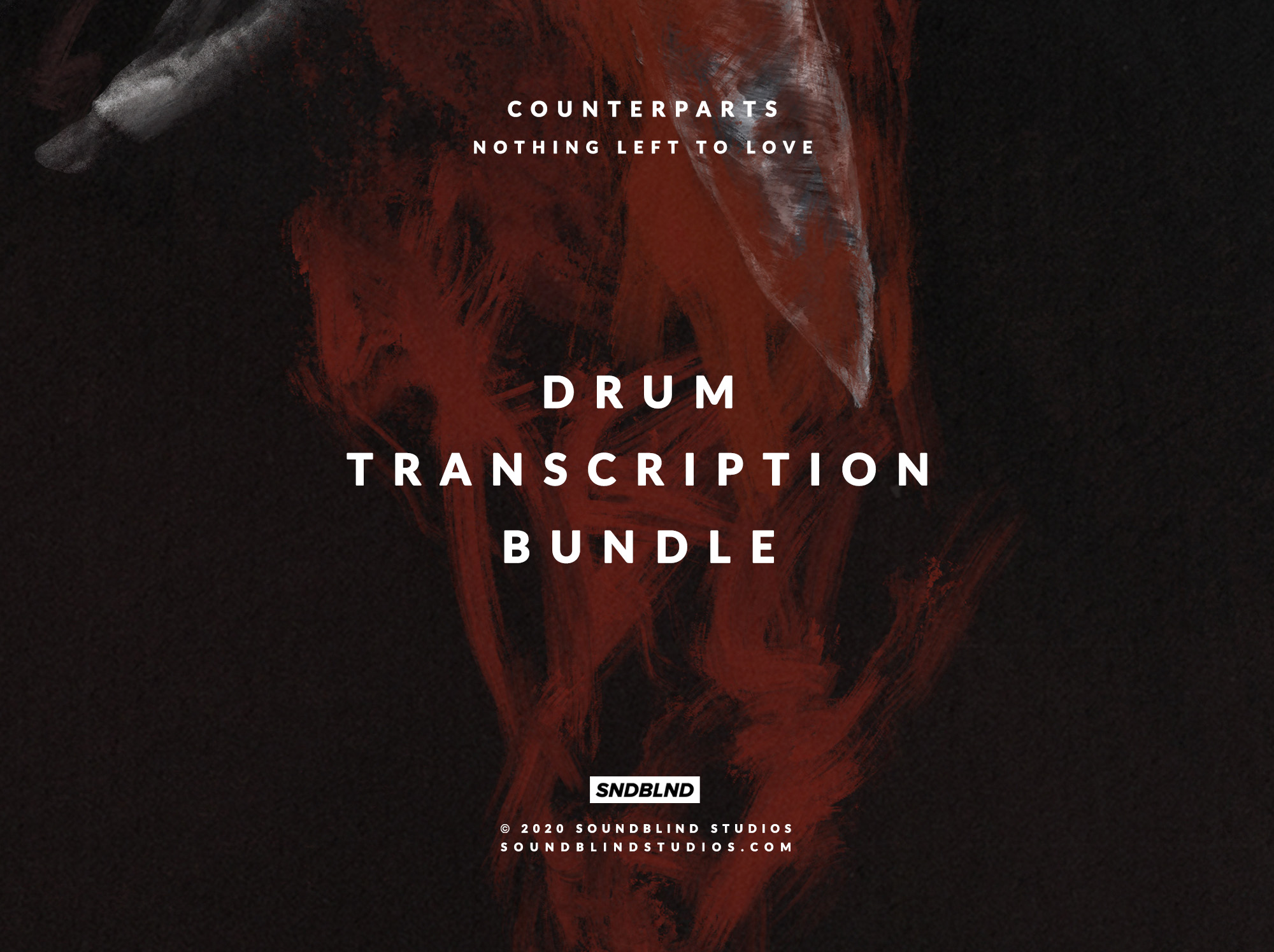 Nothing Left To Love Drum Transcription Bundle